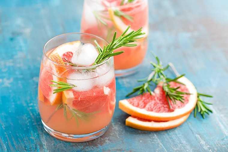 Grapefruit and orange cooler