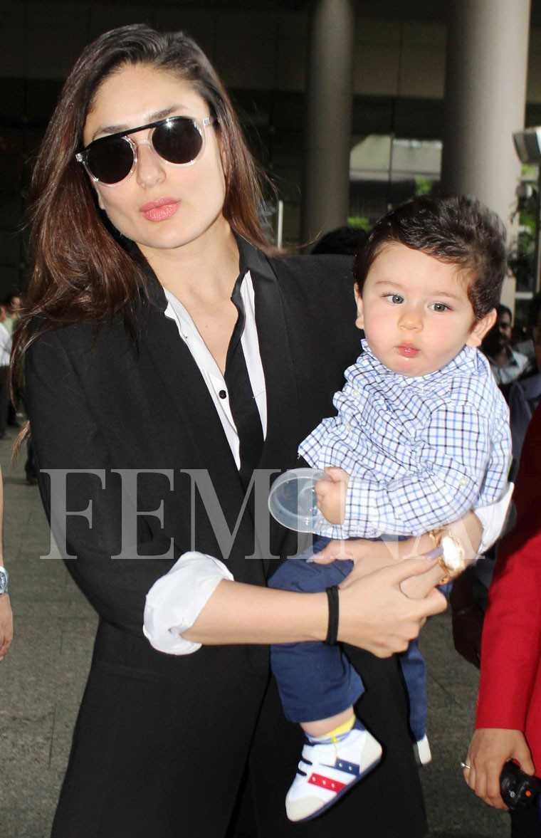 taimur with mother