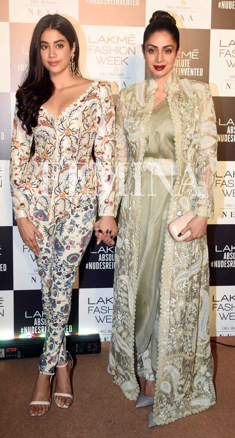 Sridevi and Janhvi Kapoor