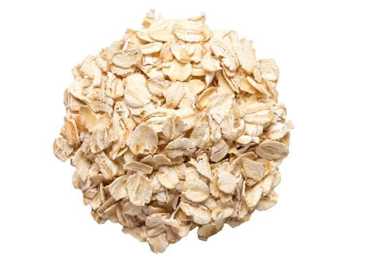 Oatmeal and buttermilk for remove tan
