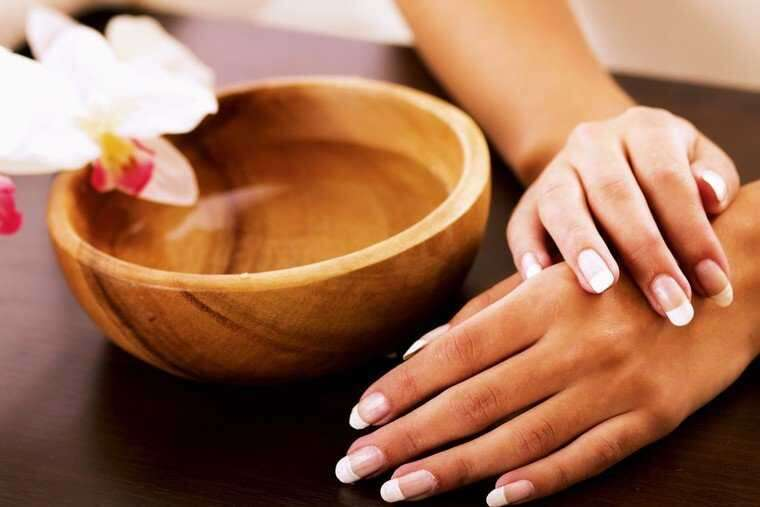 Removing tan from hands and arms