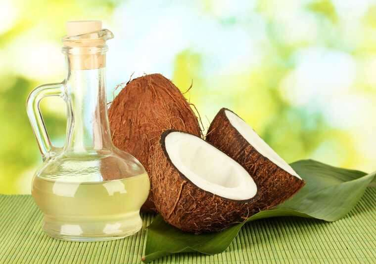 coconut makeup removal