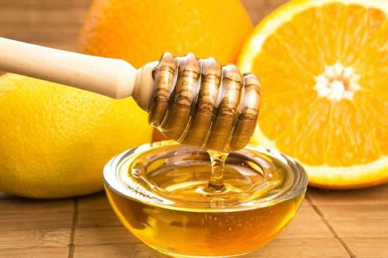 Lemon juice and honey for remove tan