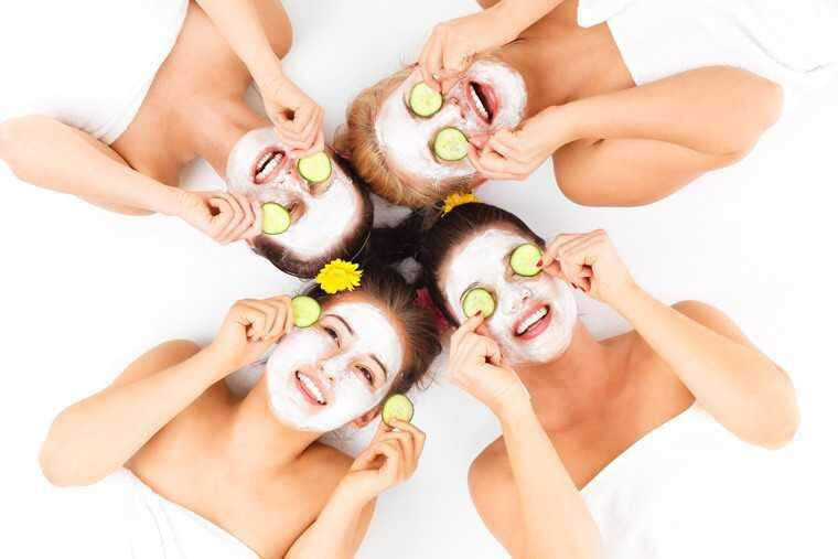 Cooling face masks for summer