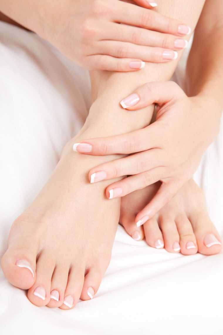 Moisturise your hands and feet