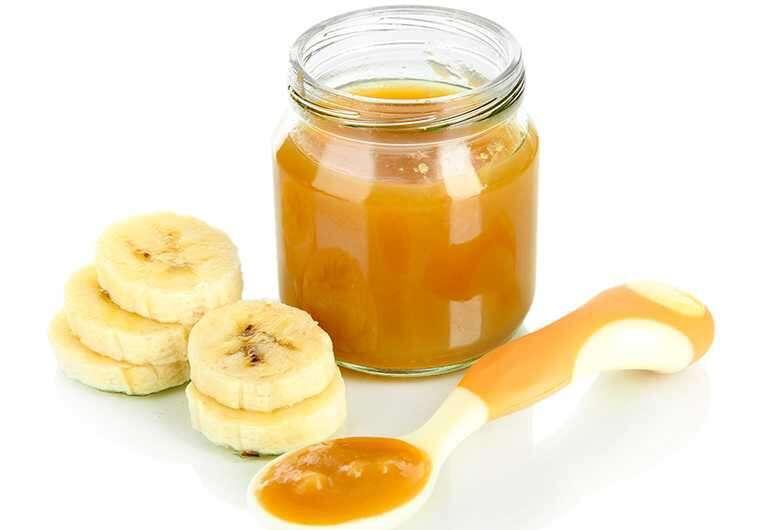 Banana and honey hair mask