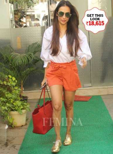 Malaika keeps her casual look on point