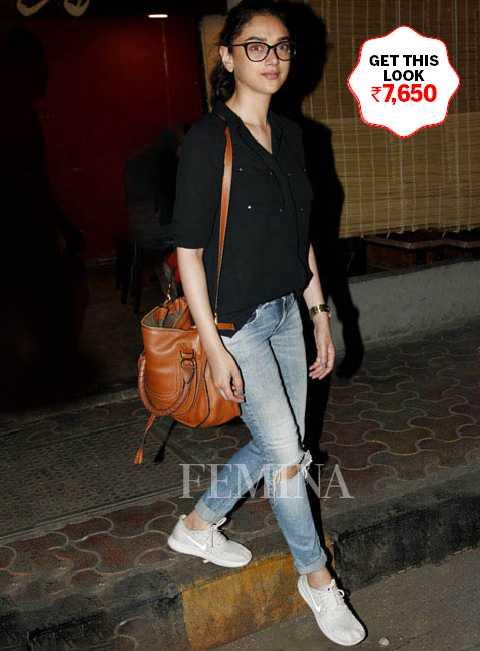 Aditi Rao Hyadri lets her accessories do the talking
