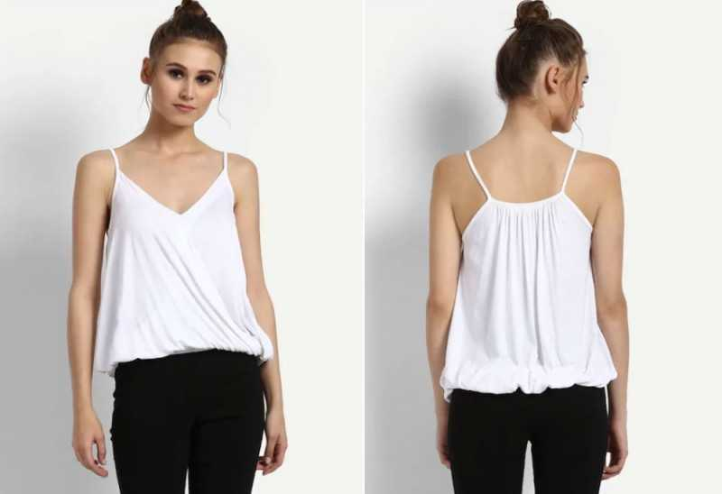 White Lucie Top