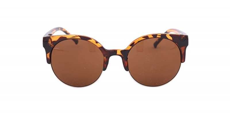 Tortoise Shell Kitten Eye Sunglasses