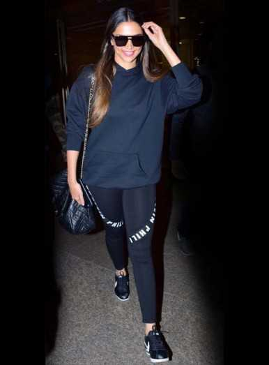 Get Deepika Padukone's effortless athleisure style