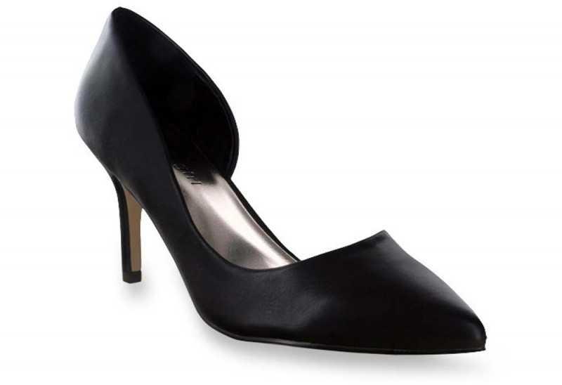Madden Girl Kopykat Black D'orsay Stilettos
