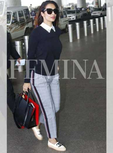 Malaika Arora proves comfy can be cool. Get her look!