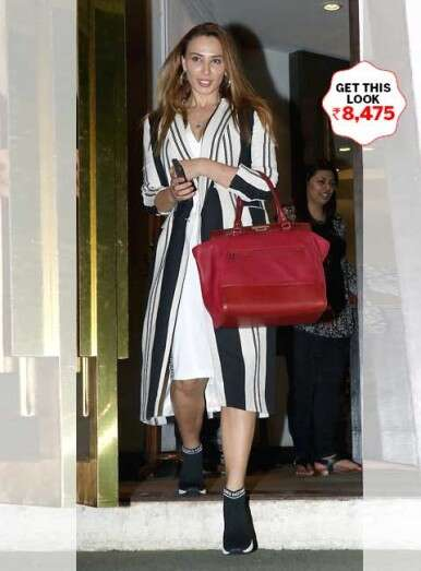 Copy Iulia Vantur's style for a chic update