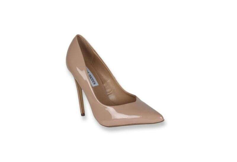 Steve Madden Wicket Nude Stiletto Heeled Pumps