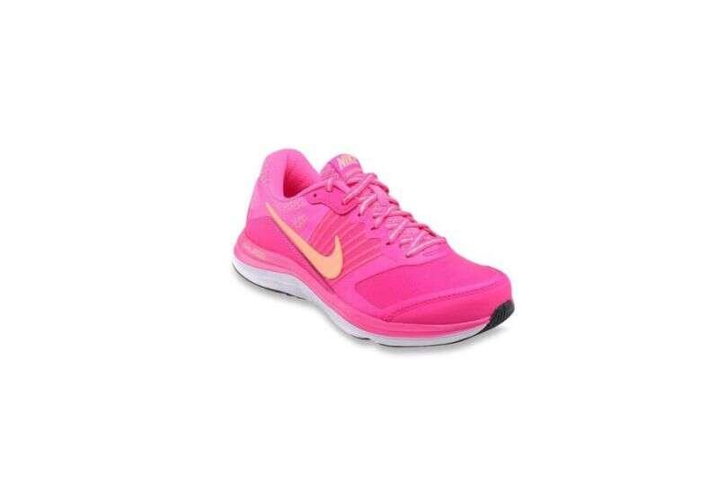 Nike Dual Fusion X Fuchsia Running Shoes