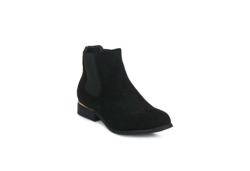 Truffle Collection Black Chelsea Boots