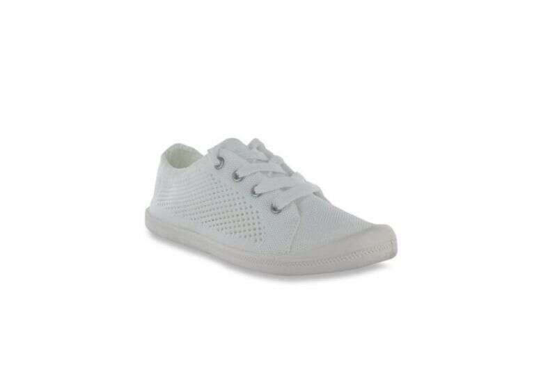 Madden Girl Bailey K White Sneakers