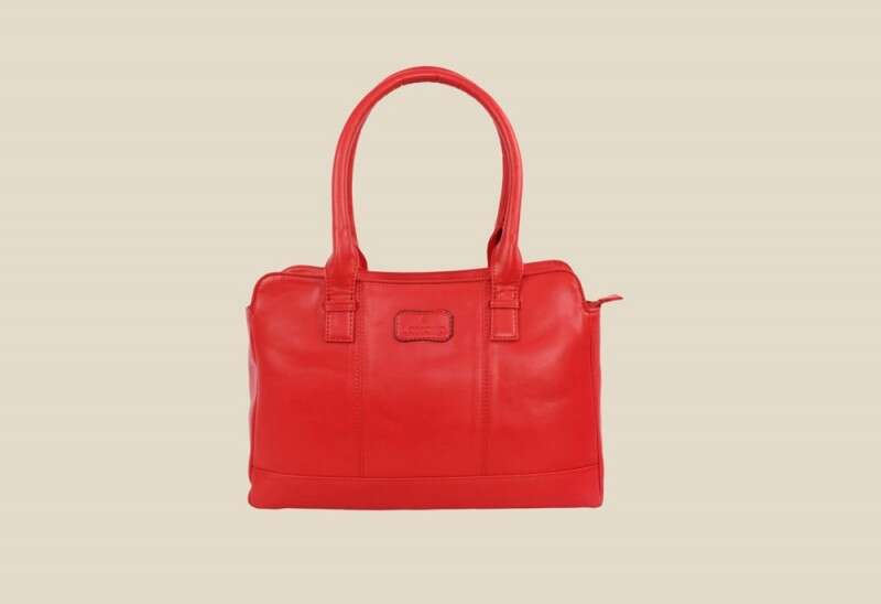 Lomond LM103 Red Solid Handbag