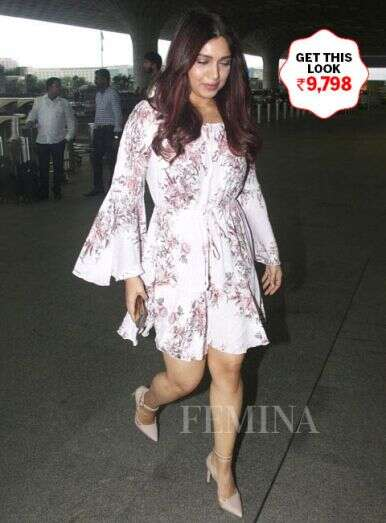 Bhoomi's easy breezy dress is absolutely stunning