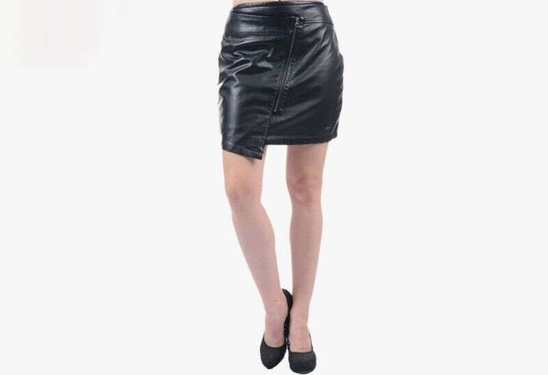Pepe Jeans Black Above Knee Skirt