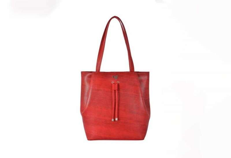 Baggit Smat Scarlet Red Textured Shoulder Bag