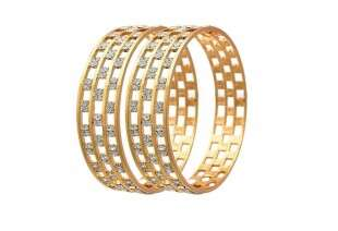 YouBella Meenakari Golden Alloy Bangle