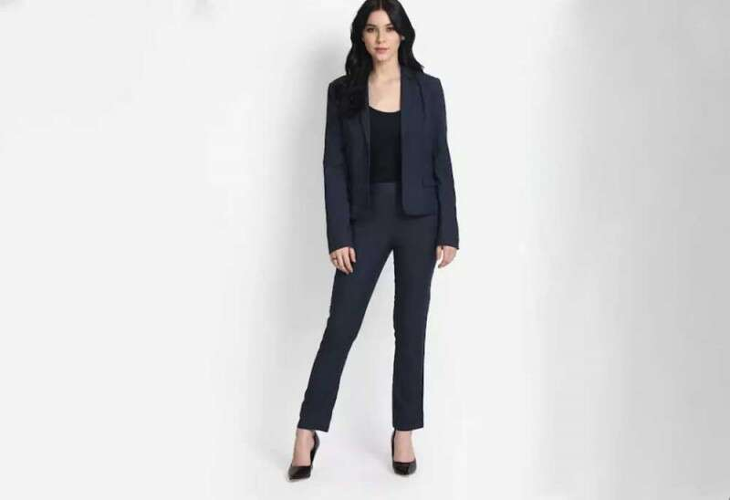 Midnight Blue Co-ords Trousers Set