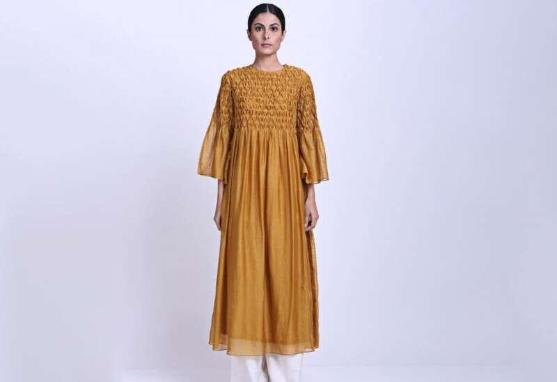 Honeycomb Tunic Dress