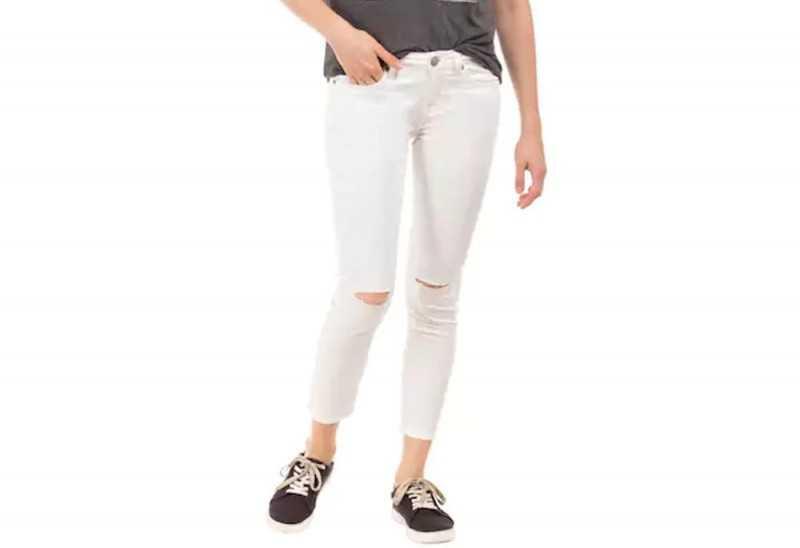 Aeropostale Cotton White Jeans & Jeggings
