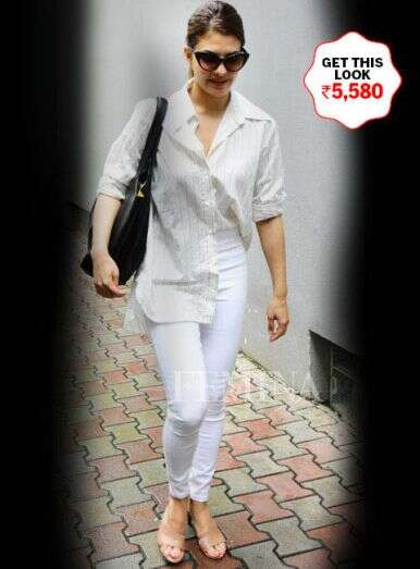 White does the trick for Jacqueline
