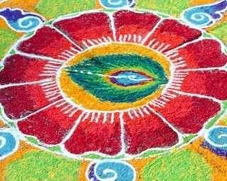தமிழை(தை) வரவேற்கும் மார்கழி கோலம்....!
