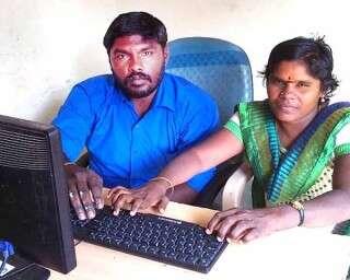 சுயசக்தி விருது பெற்ற மாற்றுதிறனாளி போதும்பொண்ணு!