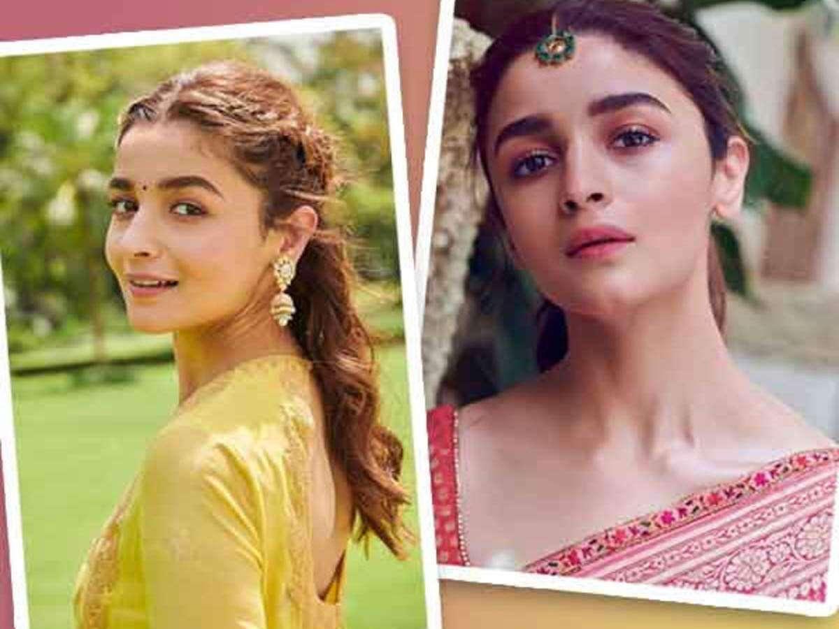 4 Ethnic Beauty Looks Worth Stealing From Alia Bhatt Femina In